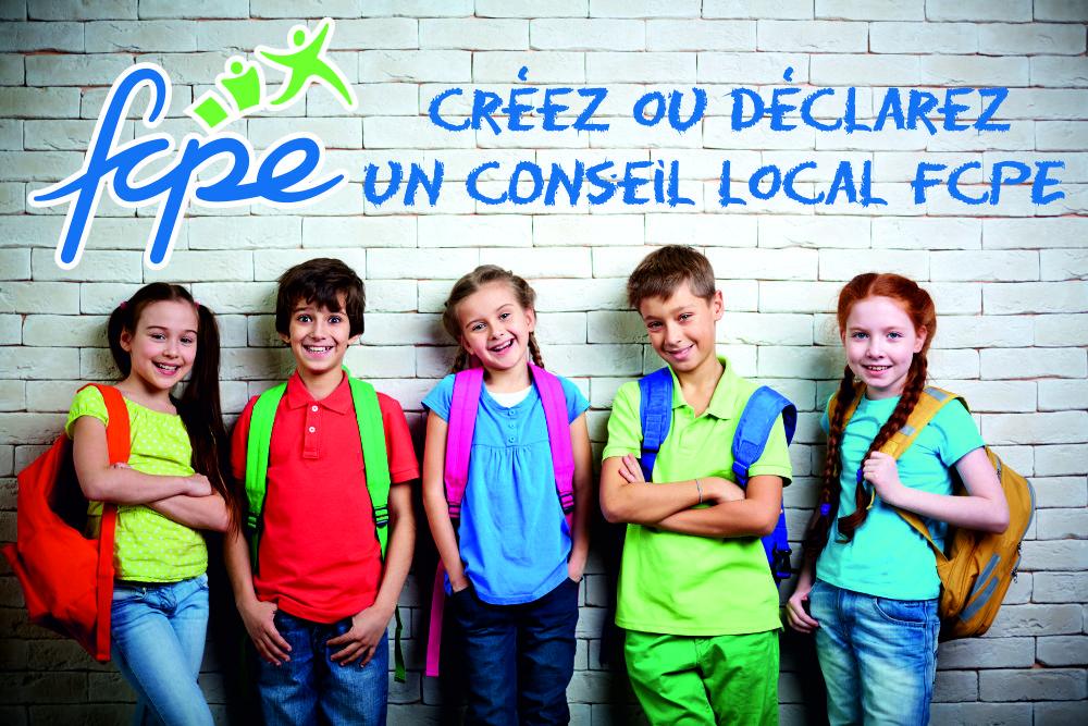 Créez un conseil de parents d'élèves FCPE